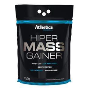 Hiper Mass Gainer - Atlhetica Nutrition - 3 KG - MORANGO