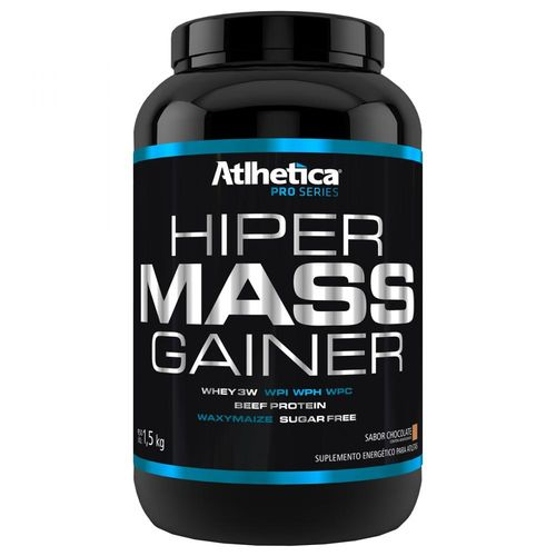 Hiper Mass Gainer Baunilha - Atlhetica Nutrition
