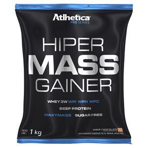 Hiper Mass Gainer Chocolate Refil 1Kg - Atlhetica Nutrition