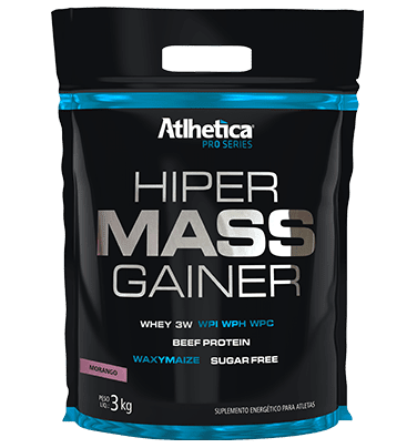 Hiper Mass Gainer 3Kg - Atlhetica (CHOCOALTE, ATLHETICA)