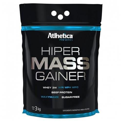 Hiper Mass Gainer (3kg) - Atlhetica Nutrition