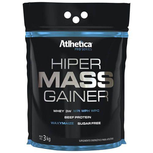 Hiper Mass Gainer 3kg Sabor Chocolate - Atlhetica Nutrition Pro Series