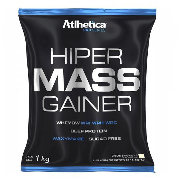 Hiper Mass Gainer Pro Series 1kg - Sabor Baunilha - Atlhetic - Atlhetica Nutrition
