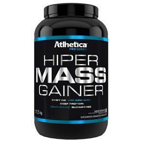 Hiper Mass Gainer Pro Series - Atlhetica Nutrition - 1,5kg - Morango