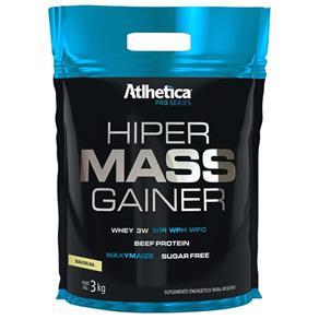 Hiper Mass Gainer Pro Series - Atlhetica Nutrition - 3kg - Baunilha