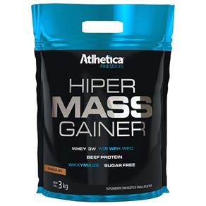 Hiper Mass Gainer Pro Series - Atlhetica Nutrition - 3kg - Chocolate