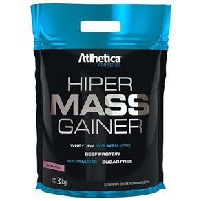 Hiper Mass Gainer Pro Series - Atlhetica Nutrition - 3kg - Morango