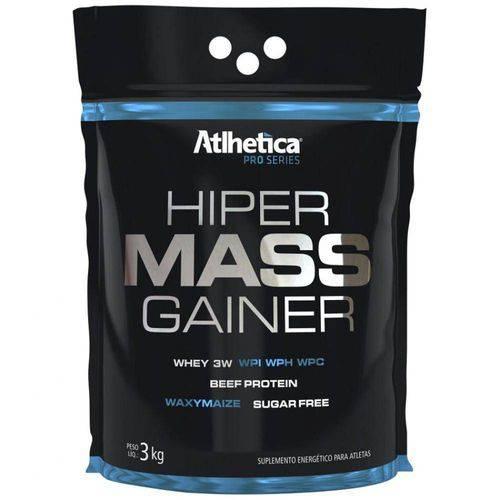 Hiper Mass Gainer Pro Series 3kg Refil - Atlhetica-Chocolate