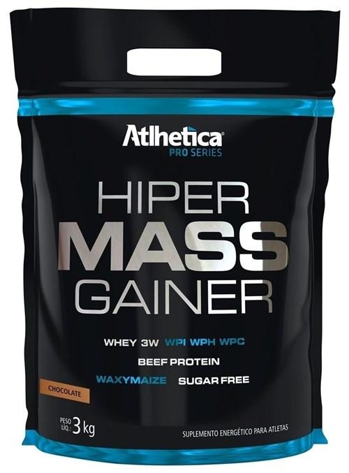 Hiper Mass Gainer Pro Series 3Kg Refil - Atlhetica Nutrition (Chocolate)