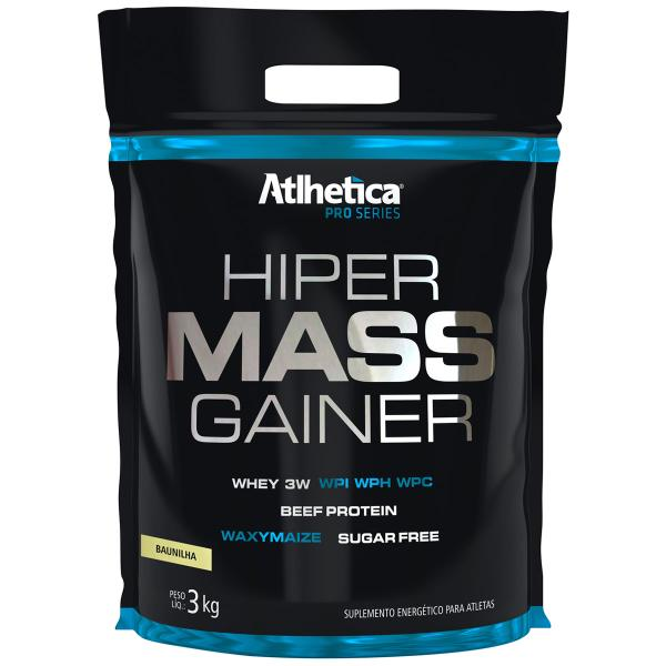 Hiper Mass Gainer Pro Series 3kg Refil - Atlhetica