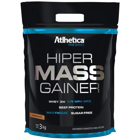 Hiper Mass Gainer Pro Series 3Kg Refil Chocolate - Atlhetica