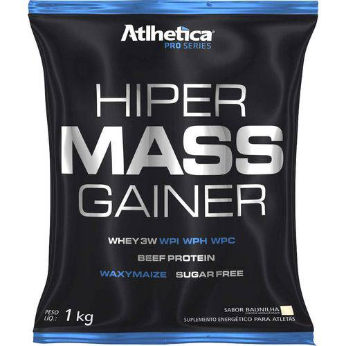 Hiper Mass Gainer (Sc) 1kg - Atlhetica Nutrition - Morango