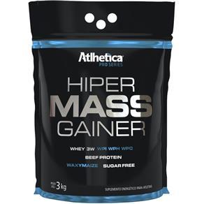 Hiper Mass Gainer (Sc) - Atlhetica - 3kg - BAUNILHA