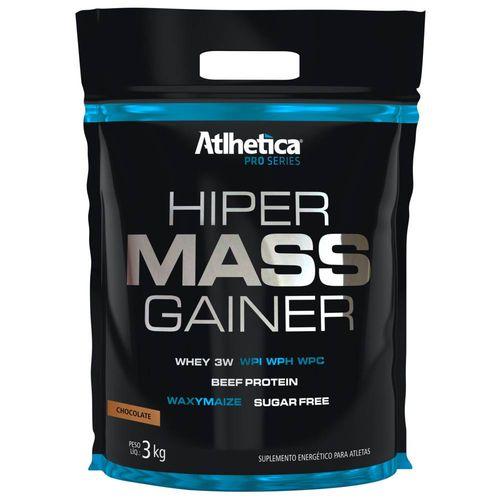 Hipercalórico Hiper Mass Gainer 3kg Atlhetica Chocolate