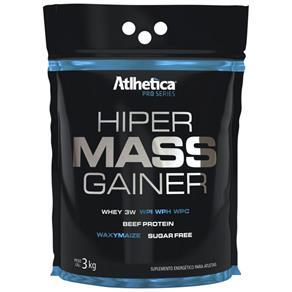 Hipercalórico Hiper Mass Gainer Pro Series - Atlhetica - 3kg- Morango