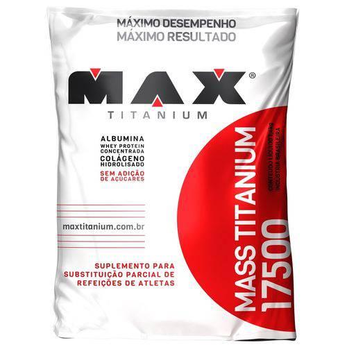Hipercalórico MASS TITANIUM 17500 - Max Titanium - 3kg