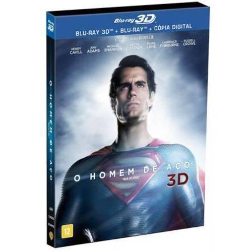 Homem de Aço, o - Blu-Ray 3D + Bluray
