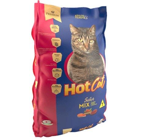 Tudo sobre 'Hot Cat Mix 25 Kg'
