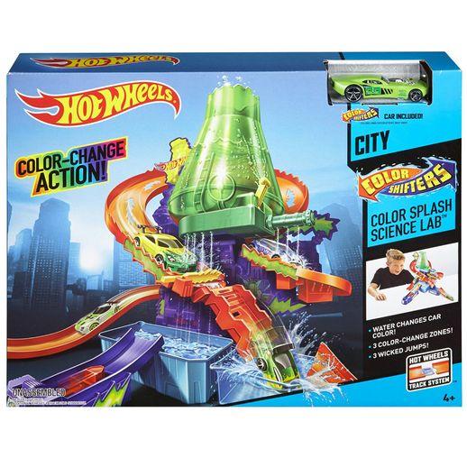 Tudo sobre 'Hot Wheels Color Estação Científica - Mattel'