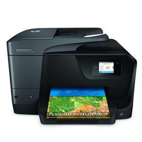 HP Officejet Pro 8710 All-in-One a Cores Jato de Tinta - Fax / Copiadora / Impressora / Scanner - Br