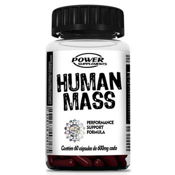Tudo sobre 'Human Mass 60 Caps. - Power Suplements'