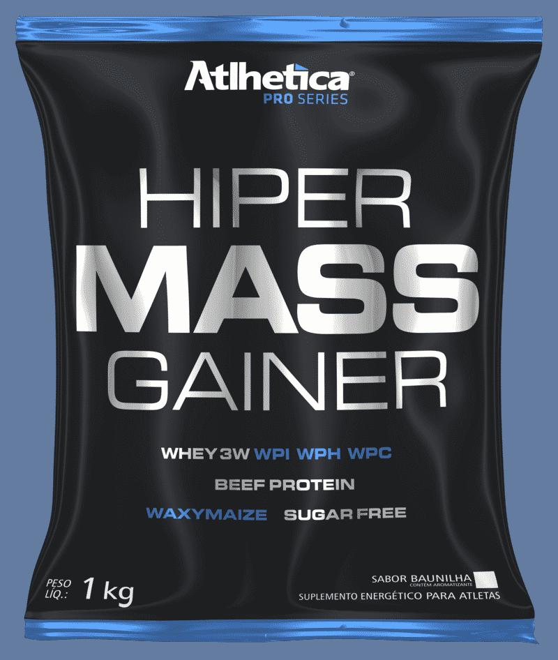 Hyper Mass Gainer 1Kg - Atlhetica Nutrition (Baunilha)