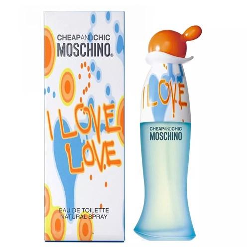 I Love Love Moschino - Perfume Feminino - Eau de Toilette (50ml)