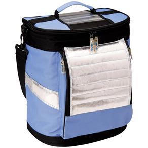 Ice Cooler Dobrável Azul com Alças 18 Litros 3627 Mor