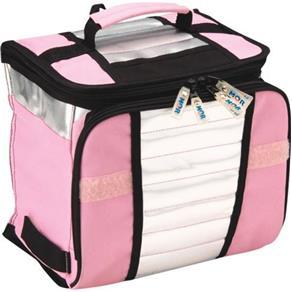Ice Cooler Mor 7,5 Litros Bolsa Térmica Azul ou Rosa - ROSA