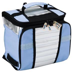 Ice Cooler Mor 7,5 Litros Bolsa Térmica Azul ou Rosa