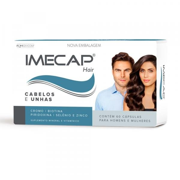 Tudo sobre 'Imecap Hair 60 Cápsulas'