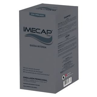 Imecap Hair Queda Intensa Kit - Creme + Cápsulas Kit