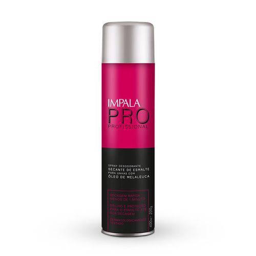 Tudo sobre 'Impala Profissional Spray Secante de Esmalte - 400ml'