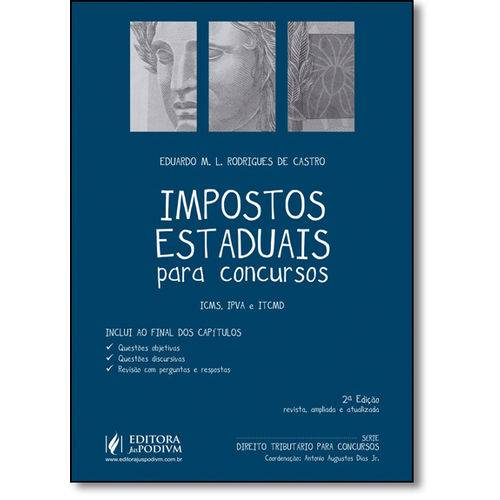 Impostos Estaduais para Concursos - Icms, Ipva e Itcmd
