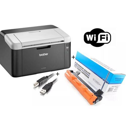 Impressora Brother LASER Mono HL-1212W, Wireless com Toner Extra