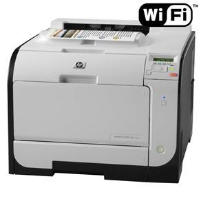 Impressora HP LaserJet Pro 400 M451dw Color