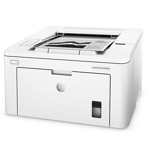 Impressora Hp Laserjet Pro M203dw Wi Fi 220-240v / 50~60hz - Branca