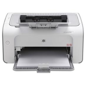 Impressora HP LaserJet Pro P1102 CE651A#696 - Branco/Cinza