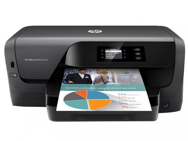 Impressora HP Office Jet Pro 8210, Wi-Fi - Bivolt