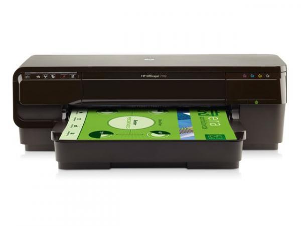 Impressora Jato de Tinta Color Hp Cr768aac4 Oj 7110 A3 Wide Format Rede /wifi 33ppm
