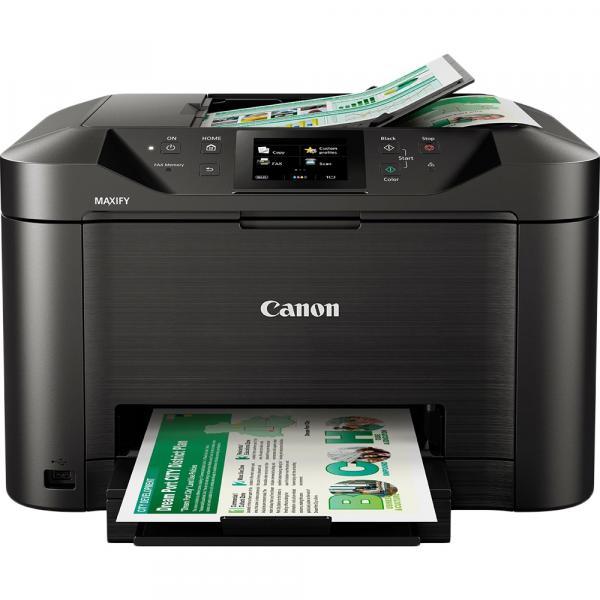 Impressora Multifuncional Canon Maxify MB5110 Jato de Tinta Colorida Wireless 110V