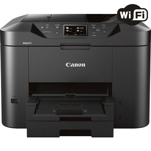 Impressora Multifuncional Canon Maxify MB2710 Jato de Tinta Colorida Wireless 110V