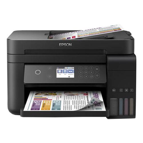 Tudo sobre 'Impressora Multifuncional Epson Ecotank L6171 Duplex Tanque de Tinta Colorida Wireless Bivolt'