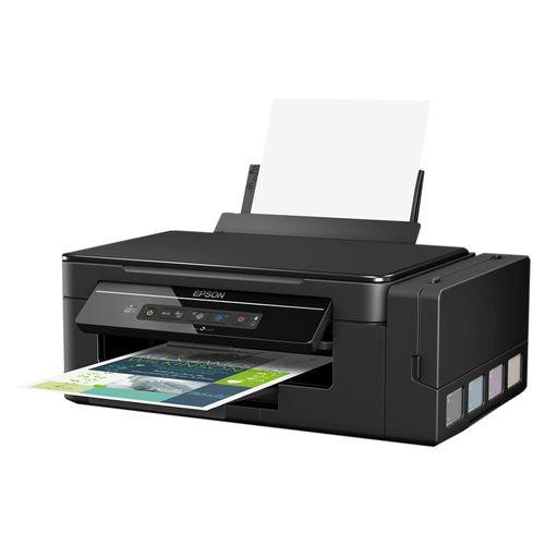 Impressora Multifuncional Epson Ecotank L396 Jato de Tinta Colorida Wireless Bivolt