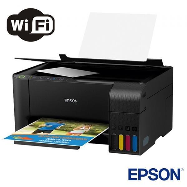 Tudo sobre 'Impressora Multifuncional Epson L3150 Tanque de Tinta Wireless Ecotank'