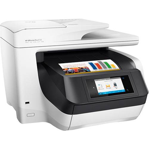 Tudo sobre 'Impressora Multifuncional HP Officejet Pro 8720 Wi-Fi'