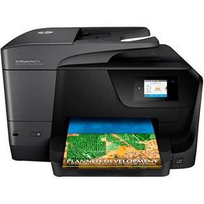 Impressora Multifuncional HP Officejet Pro 8710 Jato de Tinta Wireless