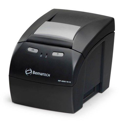 Tudo sobre 'Impressora não Fiscal Bematech Mp-4000 Th Térmica'