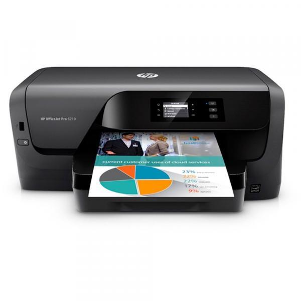 Impressora Officejet Pro 8210 D9L63A HP