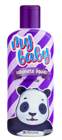 Infantil Sabonete Líquido My Baby Lavanda Ursinho 200ML